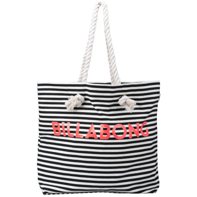 Сумка Billabong ESSENTIAL BAG - 52170 BLK/WHITE - Цвет BLK/WHITE - Фото 2
