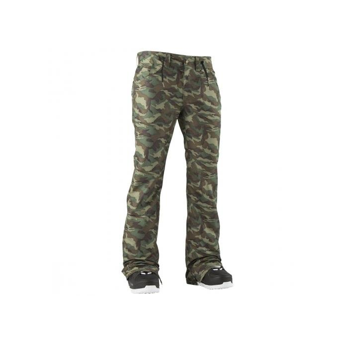 Штаны Airblaster PRETTY TIGHT PANT - 47980 FREEDOM CAMO - Цвет FREEDOM CAMO - Фото 1
