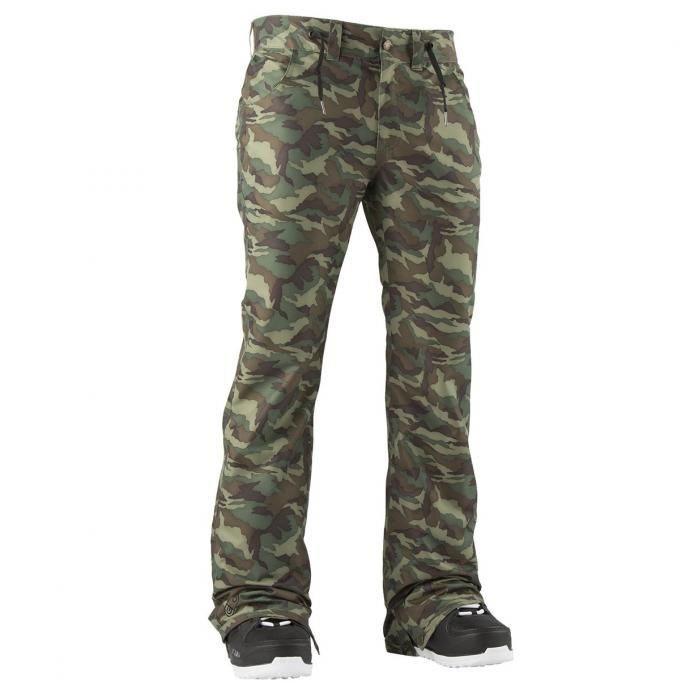 Штаны Airblaster PRETTY TIGHT PANT - 47980 FREEDOM CAMO - Цвет FREEDOM CAMO - Фото 2