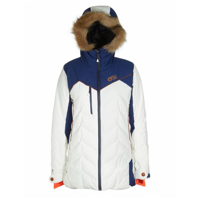 Куртка 20/15 жен. Picture Organic FLY 2 JKT EXPE C - W16/17 WVT074 White/Dark Blue - Цвет Белый - Фото 1