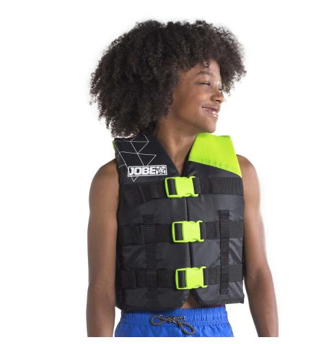 "ЖИЛЕТ ДЕТСКИЙ JOBE ""NYLON VEST YOUTH"" LIME GREEN"