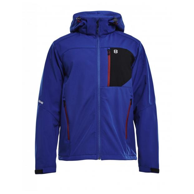 Куртка для беговых лыж 8848 Altitude «DAFT SOFTSHELL» - Аритикул 7312 8848 Altitude «DAFT SOFTSHELL» Blue - S - Фото 1