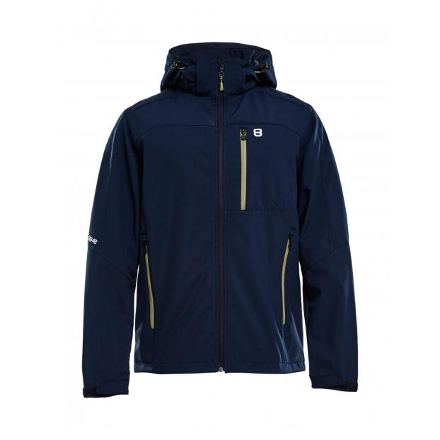 Куртка для беговых лыж 8848 Altitude «DAFT SOFTSHELL» - Аритикул 7312 8848 Altitude «DAFT SOFTSHELL» Blue - S - Фото 6