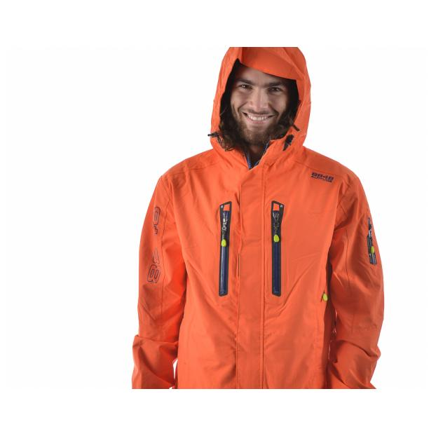 Комбинезон 8848 Altitude «STRIKE SKI SUIT-2» Арт: 7938 - Аритикул 793831 - 8848 Altitude «STRIKE SKI SUIT» orange M - Фото 2