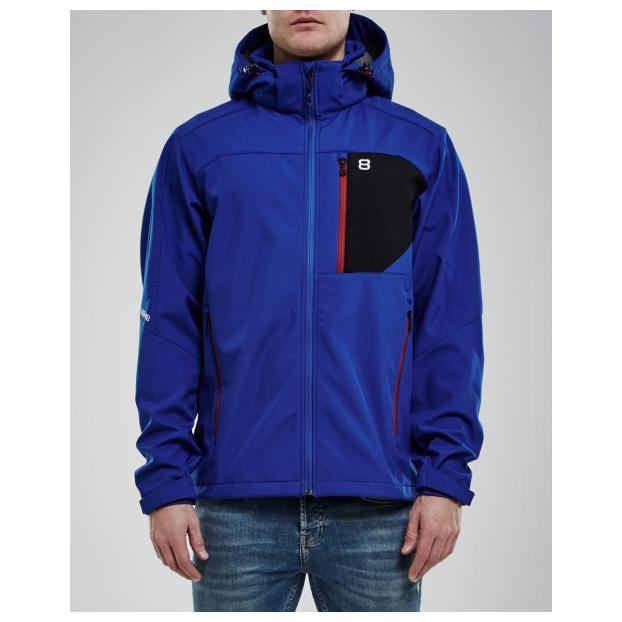Куртка для беговых лыж 8848 Altitude «DAFT SOFTSHELL» - Аритикул 7312 8848 Altitude «DAFT SOFTSHELL» Blue - S - Фото 2
