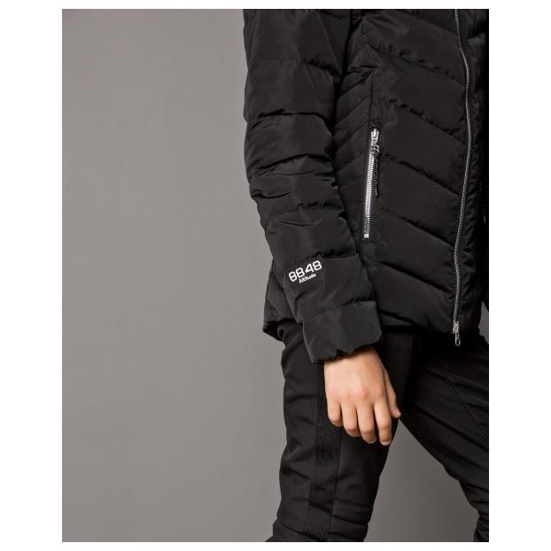 Куртка детская 8848 ALTITUDE Evon jr. Down Jacket 2018 - Аритикул 8823 -Evon jr. Down Jacket-Black-140 - Фото 6