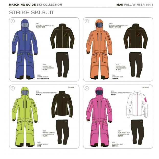 Комбинезон 8848 Altitude «STRIKE SKI SUIT-2» Арт: 7938 - Аритикул 793831 - 8848 Altitude «STRIKE SKI SUIT» orange M - Фото 8