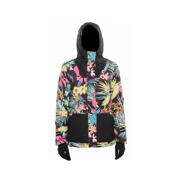 Куртка BILLABONG CHEEKY JACKET FW15 - Аритикул CHEEKY JACKET FW15 Tropical L - Фото 6